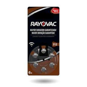 Pilas Rayovac # 312 x 6 unidades